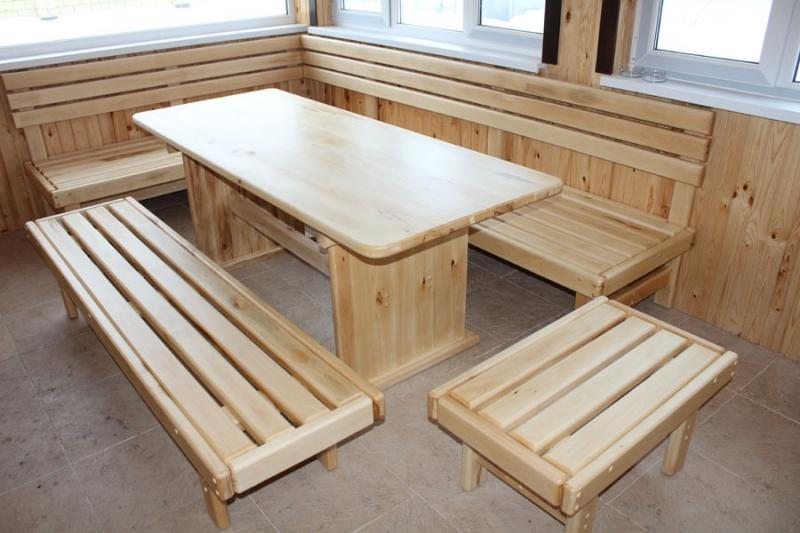 Изготовление мебели для дачи своими руками