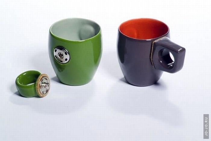 Оригинальный дизайн чашек