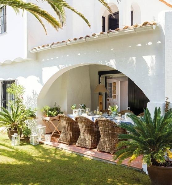 Небольшой пляжный дом в Испании площадью 70 кв.м.