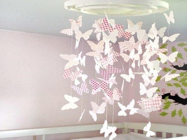 Бабочки + трафареты