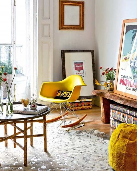 Дизайн интерьера квартиры в Мадриде