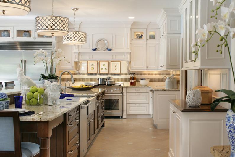Современная большая кухня-столовая – какая она?