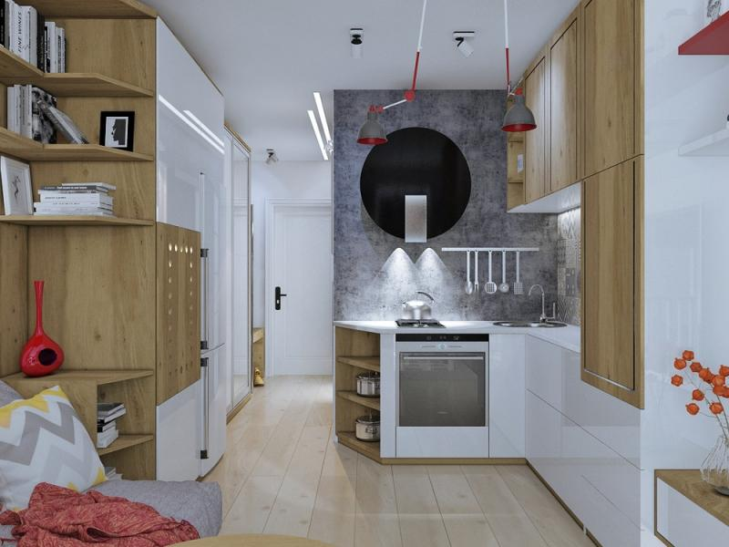 Планировки квартир-студий площадью 30 кв. м