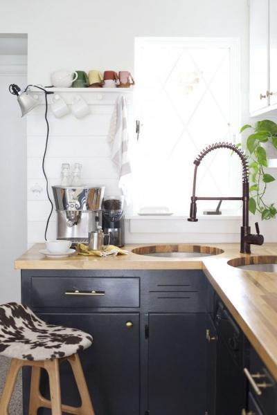 Угловая мойка для кухни (45 фото): интересное решение при нехватке пространства