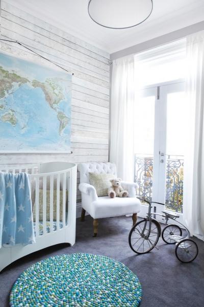 Белый цвет в детской - универсальное решение