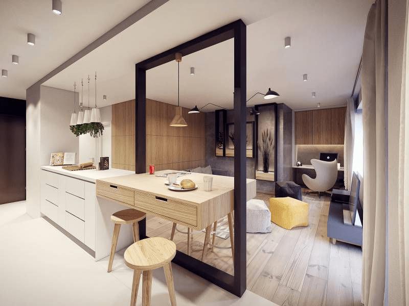 Гостиная-кухня площадью 20 кв. метров — создаем стильный интерьер без ущерба бюджету!