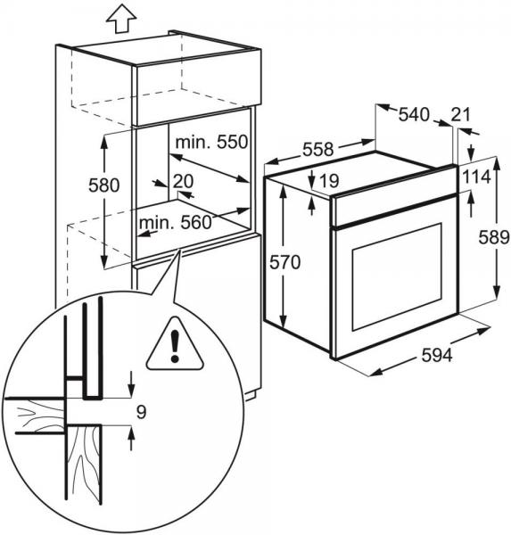 Электрические встраиваемые духовые шкафы: обзор наиболее функциональных и доступных моделей