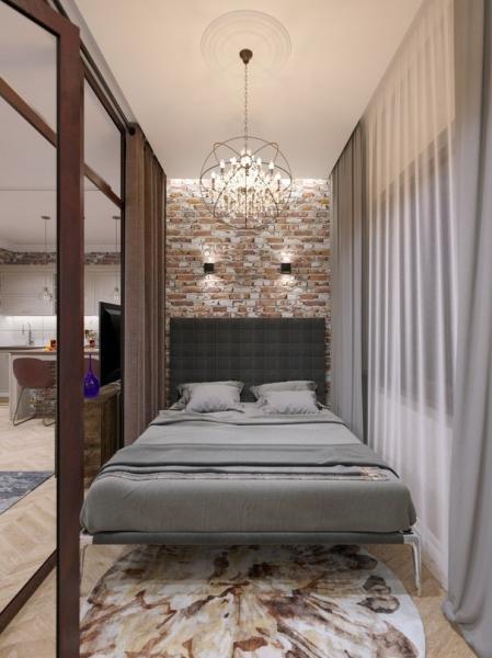 Дизайн-проект квартиры с полной перепланировкой 46 м кв. Дизайнер Марина Кукина (Среда
