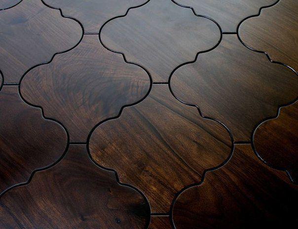 Плитка, выглядящая как дерево