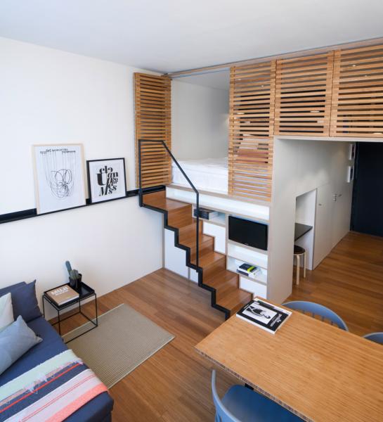 Кровать-чердак для взрослых: для тех, кто давно мечтает о большой и вместительной спальне