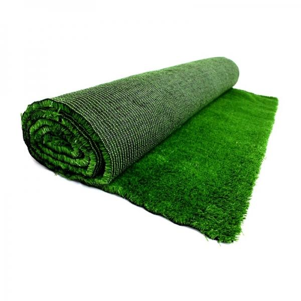 Свежий акцент в интерьере: ковер-трава