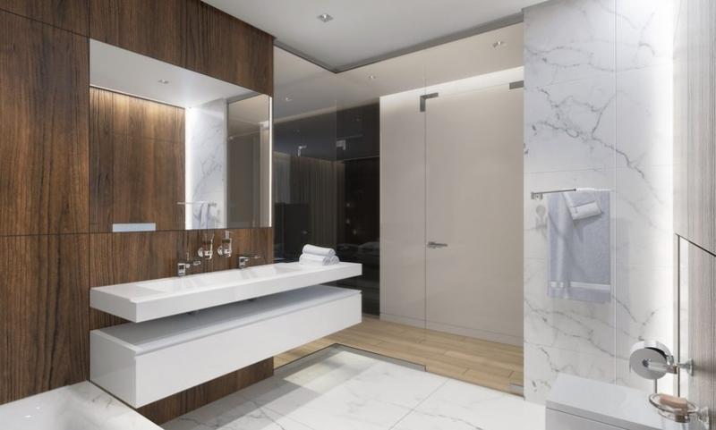 Интерьер ванной комнатыАвтор проекта - Сергей Ларичев