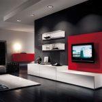 Мебель горка для гостиной в современном стиле для полноты интерьера