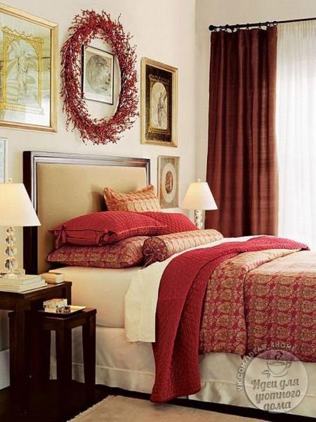 Добавим романтики в интерьер маленькой спальни