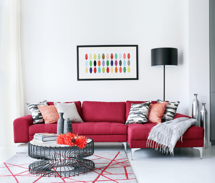 Угловые диваны в гостиной: 75 решений для тех, кто выбирает комфорт и релаксацию