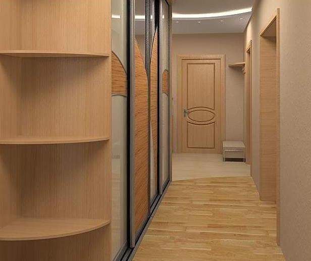Прихожие для узких коридоров: идеи оформления