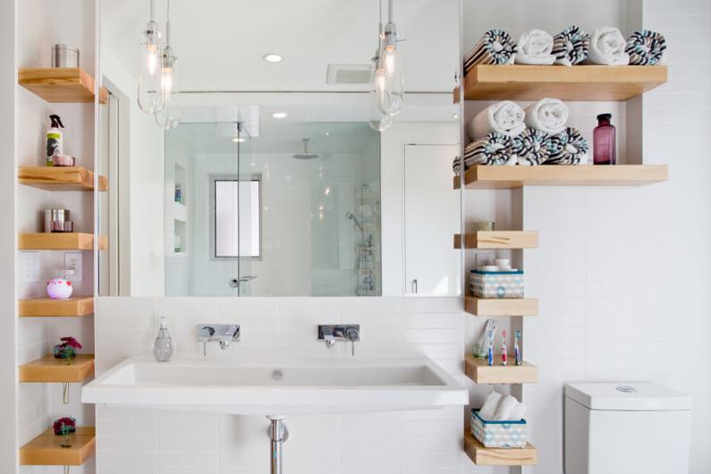 Дизайн ванной комнаты для двоих