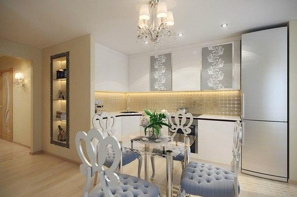Идея интерьера для небольшой квартиры