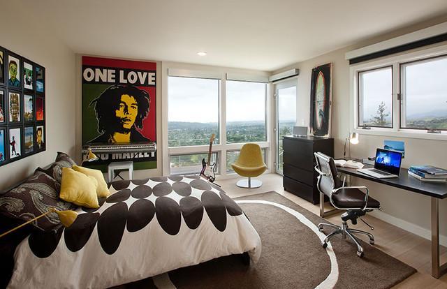 Дизайн комнаты для молодого человека
