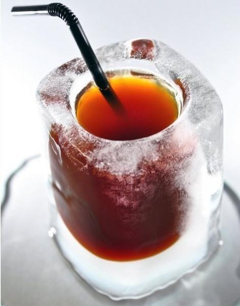 Ледяной стакан.