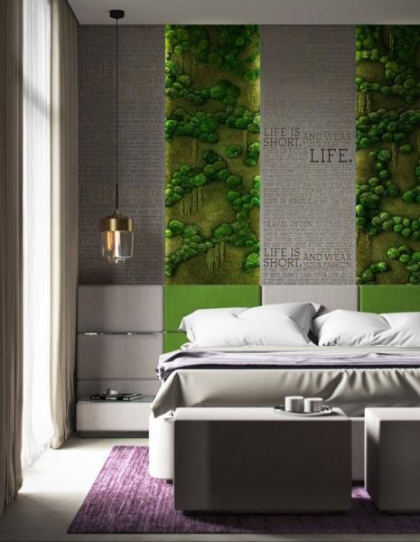 Спальня в современном стилеАвтор проекта - Олег Петренко