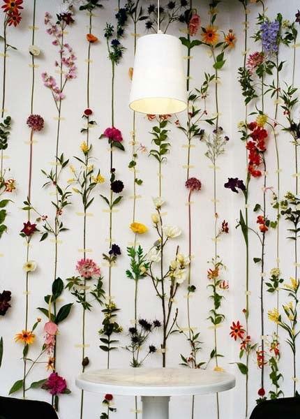 Необычные идеи оформления стен