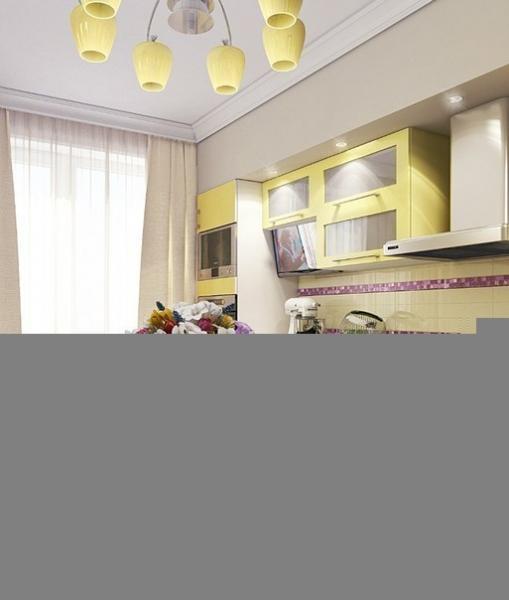 Кухня + балкон
