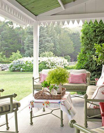 Уютные местечки в саду или доме