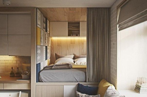 Дизайн квартиры 20 кв.м.
