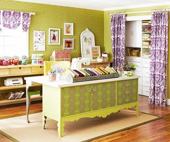 Зеленый цвет в дизайне и декоре интерьера