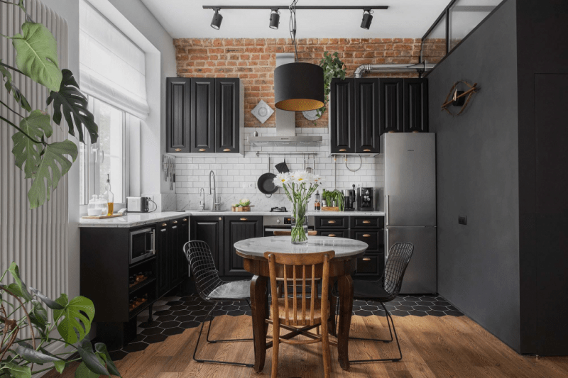 Белая кухня в интерьере: 75+ роскошных классических интерьеров и лучшие цветовые сочетания с белым