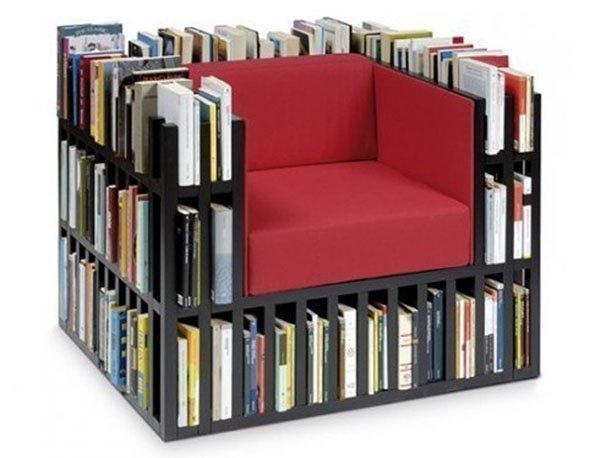 2 в 1: кресло-библиотека