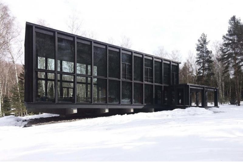 Гостевой дом в Московской области от архитектурного бюро FAS(t)