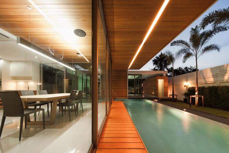 Современный особняк L71 в Бангкоке, Таиланд