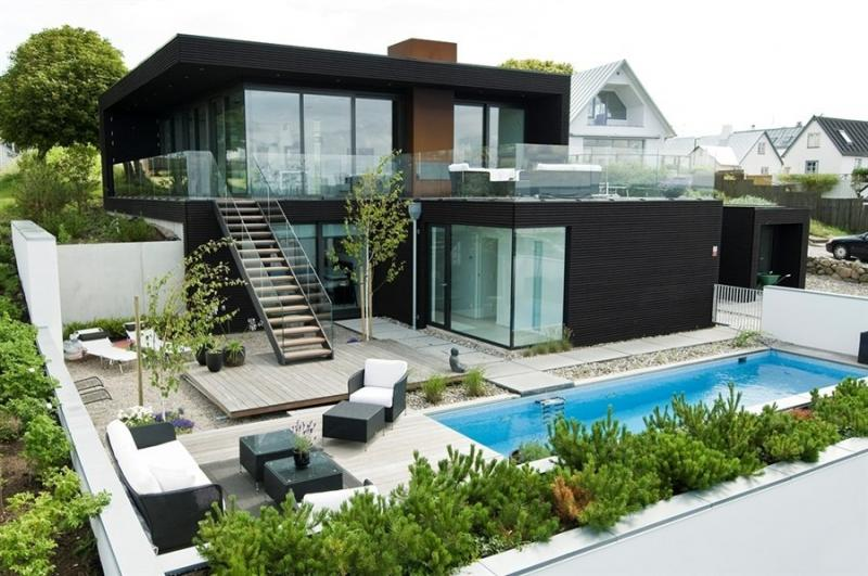 Отличный дом расположенный в Швеции