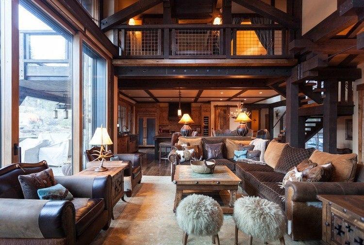 Потрясающе красивый дом в горах ч.2