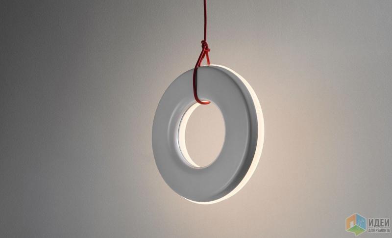 Нескучные светильники-колечки