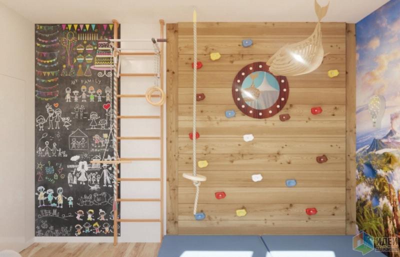 Игровая комната в загородном доме