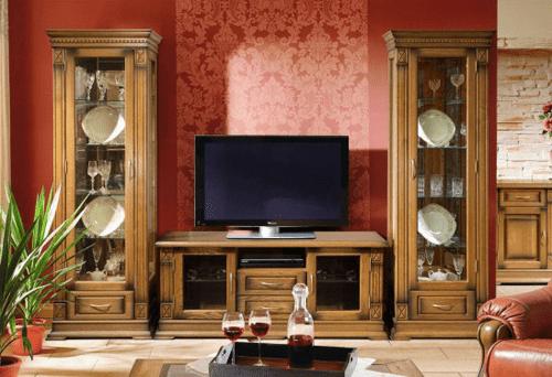 Нестареющая классика: 95+ элегантных вариантов мебели для гостиной в классическом стиле