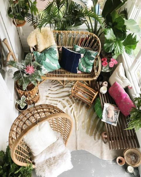 Идеи декора и оформления балкона накануне лета