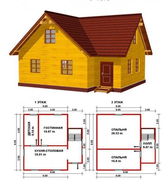 Проекты домов из бруса: комфорт для всей семьи и 95+ надежных и практичных реализаций