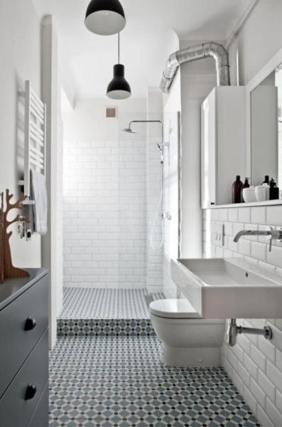 Современный интерьер ванной комнаты: 5 хороших идей