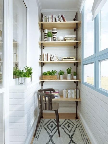 Особенности отделки балконов и лоджий