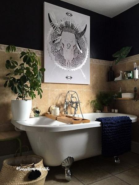 Домашняя ванная комната в стиле SPA