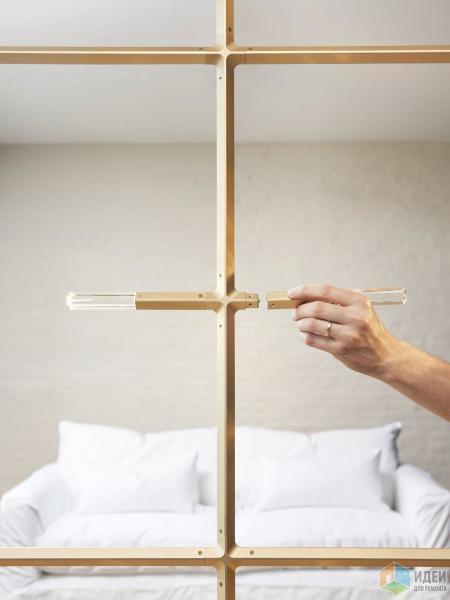 Как превратить светильник в перегородку
