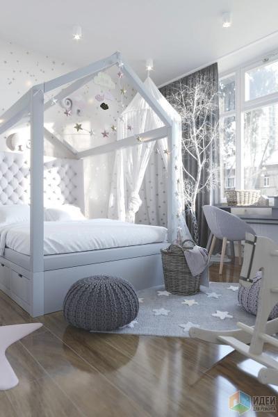 """Дизайн квартиры в ЖК """"Триколор"""""""
