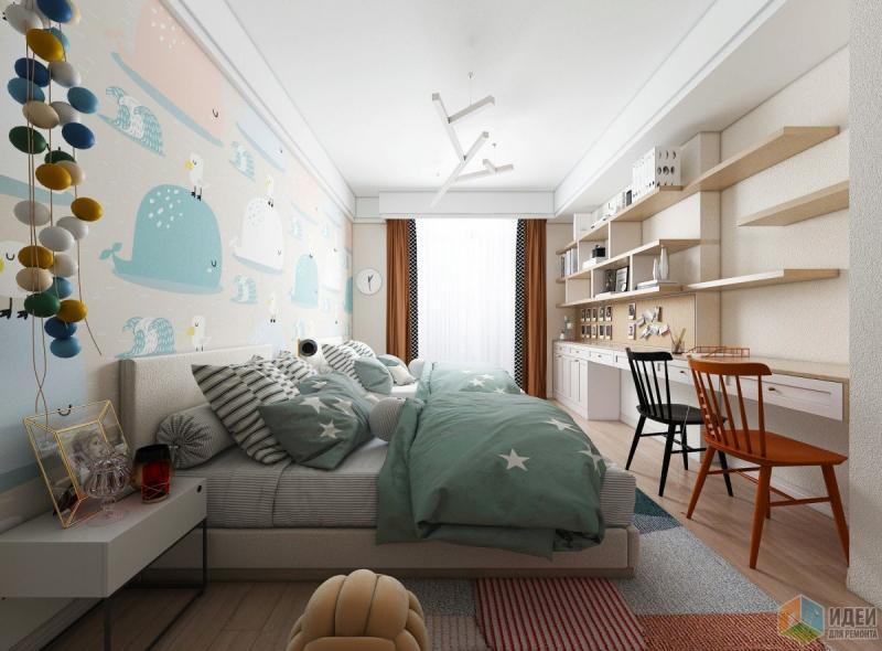 Дизайн-проект #Мечты маленьких китов#