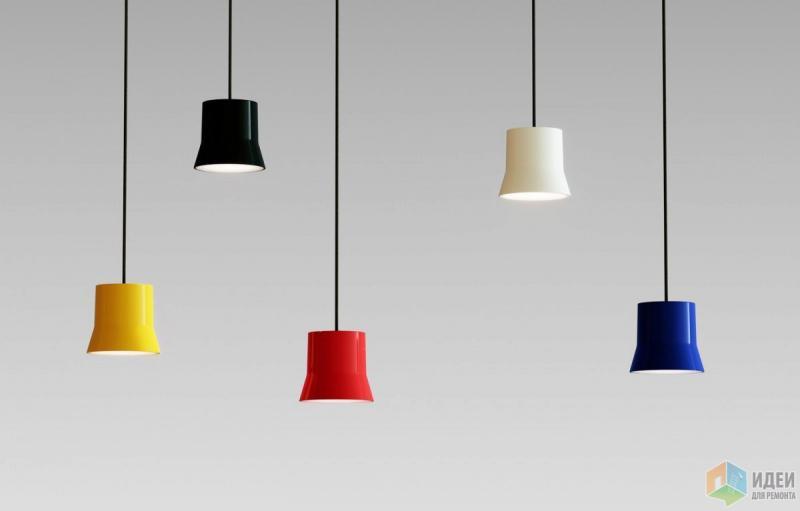 Легкие цветные лампы