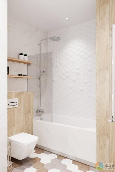 Квартира 90 кв.м. в современном стиле в ЖК Vander Park.