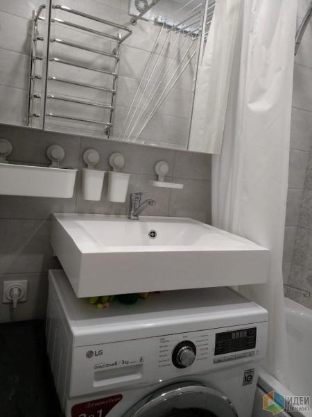 Хрущевка - кухня и ванная, было/стало